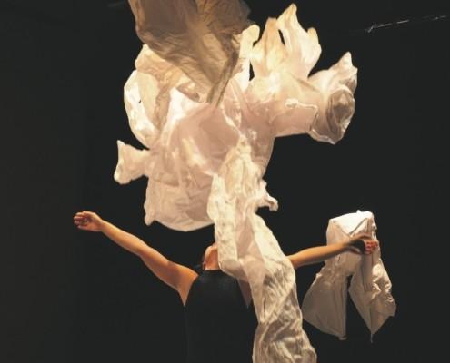 spectacle papiers dansés